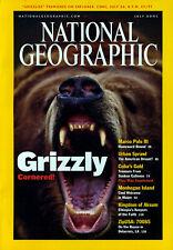 NATIONAL GEOGRAPHIC MAGAZINE Volume 200 #1 July 2001 *Ships Free w/$35 Combo