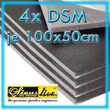 4x Sinus Live DSM Dämmschaummatte 1000x500x11mm selbstklebend 2m² 4 Matten