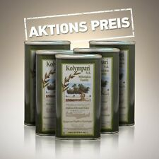 "Natives Olivenöl Extra 5 x 1 Liter Kanister aus Kreta Kolympari ""AKTIONSPREIS"""