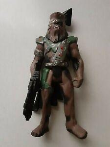 Star Wars POTF2 Shadows of Empire Chewbacca Snoova Loose Action Figure MINT
