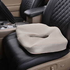 Universal Memory Foam Seat Massage Cushion Beige Automobile Seat Covers