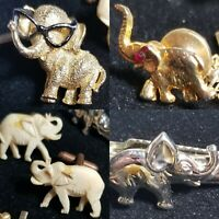 POTUS REPUBLICANS ELEPHANT ELEPHANTS Rare VINTAGE Pins CUFF LINKS Election DC