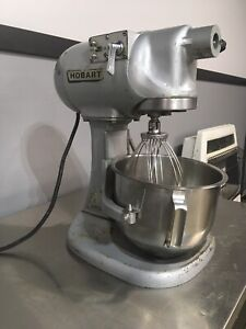 Hobart 5 Quart Countertop Commercial Mixer N-50 3 Speed Bowl Whisk
