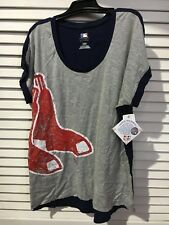 Baseball Boston Red Sox Women's L Large Shortsleeve T-shirt 153 With MLB Tags C6