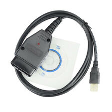 OBD2 USB Cable Auto Scanner Scan Tool for Audi VW VAG-COM KKL 409.1 Seat Black !