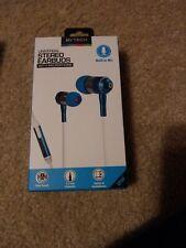 Used BYTECH Stereo Earbuds Universal Black Built in Mic Original Box Headphones