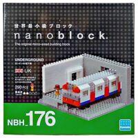 NBH176 Nanoblock Underground Mini Building Blocks 290 pieces 12 years+