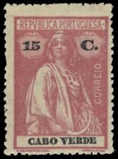 "CAPE VERDE 172i -  Ceres Keyplate ""1916 Brownish Rose - Unlisted Shade (pa75021)"