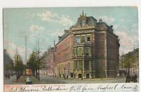 Holland, Rotterdam, Diergaarde laan met Stationsweg Postcard, B272