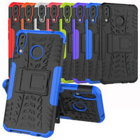 For Asus ZenFone 5Z ZS620KL Case Rugged Armor Defender Kickstand Phone Cover