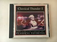 CD -  CLASSICAL THUNDER 1 - TIME LIFE LIBRARY -  Clean Used- GUARANTEED