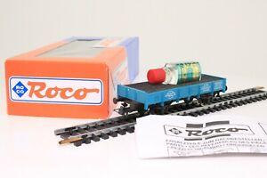 ROCO 47958 H0 Güterwagen Niederbordwagen mit 4711 Ladung in der OVP
