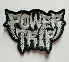 Power Trip  Die-Cut Logo EMBROIDERED PATCH