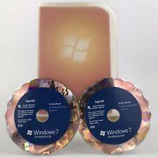 Windows 7 Professional Upgrade w/ Key 32 bit & 64 bit 2009