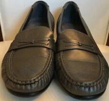 SAS Shoes Loafers Pewter Leather Tripad Comfort 6.5 W Womens Slip On Flats