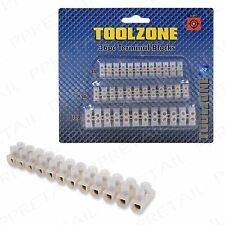 36Pc Terminal Blocks +ELECTRICAL WIRE CONNECTOR+Protect/Insulate Choc 3/5/10 Amp