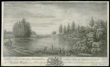 1768 ESSEX - Antique Engraving of WOODFORD ROW Water Lake Buckhurst  (14)