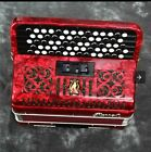 Accordion Parrot Red B-Griff