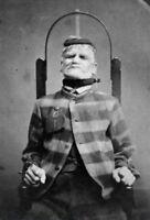 Antique Asylum Restraint Chair Photo 368 Bizarre Odd Strange