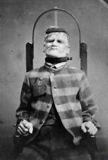 Antique Asylum Restraint Chair Photo Bizarre Odd Freaky Strange
