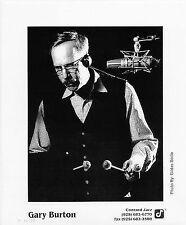 GARY BURTON Original Concord Jazz 8x10 Glossy Press Photo by Gildas Bolce