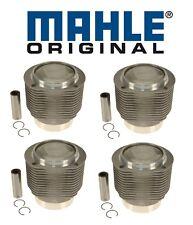 For Porsche 356SC 912 1.6 H4 Set of 4 Engine Pistons & Cylinders w/ Rings OEM