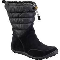 Columbia Minx Moccasin Snow Boots Womens 9.5 Omni-Heat Waterproof Suede Warm