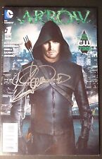 "STEPHEN AMELL Authentic Hand-Signed ""ARROW #1 DC Comic"" (PROOF)(Green)"