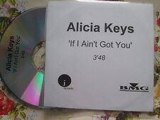 Alicia Keys – If I Ain't Got You Label: J Records BMG CDr UK Promo CD Single