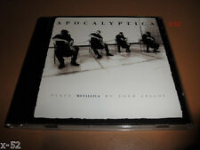 APOCALYPTICA plays METALLICA BY FOUR CELLOS cd enter sandman master of puppets