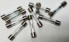AGC15 15 AMP GLASS TYPE FUSES 10Pcs