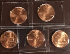 2013 D Lincoln Shield Cents from Denver Mint Sets- x5