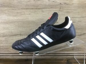 Adidas Beckenbauer Cup Mens Black Soccer Cleats Mens Size 12 Excellent Germany
