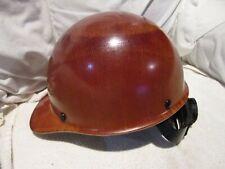 New Listingmsa Safety Skullgard Cap Hard Hat With Fast Track Suspension Medium Tan