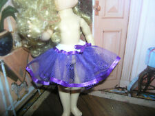 "Purple Nylon Net Slip Petticoat Crinoline 14"" Doll clothes fits Ideal Toni P-90"
