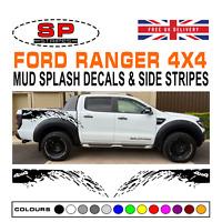 Ford Ranger 4x4 Raptor Wiltrak Mud Splash Vinyl Decals Styling Graphics 07