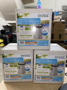 Intex Krystal Clear Cartridge Filter Pump 330 GPH Pump 💧❄️ Above Ground Pools
