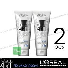 L'Oreal Professionnel Tecni Art Fix Max Shaping Gel for Extra Hold 200ml 2pcs