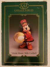 "Ksa Fabriche ""Minnie Mouse with Cymbols"" Kurt S. Adler Inc. W/Box & Hangtag"