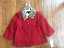 NWT Girls Cherokee ~ Red Coat 2T