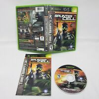 Tom Clancy's Splinter Cell: Pandora Tomorrow (Microsoft Xbox, 2004) COMPLETE