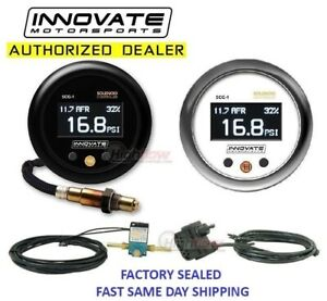 Black Dial GENUINE Innovate 3865 MTX Analog Exhaust Gas Temperature Gauge Kit