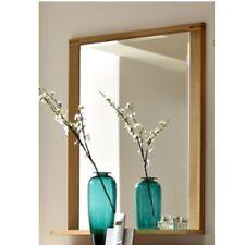 Inkana Kernbuche teilmassiv, Spiegel, Wandspiegel mit Ablage ca. 74 cm breit