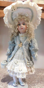 """Patricia Loveless Porcelain Bisque  27"""" French Doll Near Mint Gorgeous Girl L.E."""