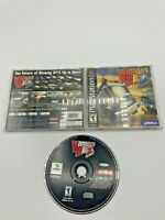 Sony PlayStation 1 PS1 CIB Complete Tested Vigilante 8 2nd Offense Ships FAST