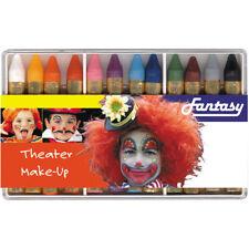 12 Schminkstifte für Kinderschminken und Karneval in Kunststoffbox