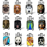 Animals Case Cover Travel Suitcase Protective Cover Bags Luggage Protect Covers