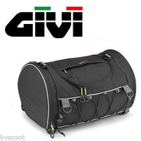 Sac de selle rouleau GIVI EA107B 35l Easy bagage rond souple NEUF seat roll bag