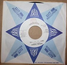 AARON NEVILLE She's On My Mind ALL THESE THINGS New Orleans Soul 45 on SANSU 834