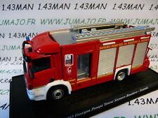voiture 1/64 DEL PRADO Pompiers du Monde : SCANIA FPTSR 2003 Meurthe & Moselle